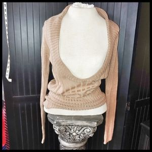 NWT Chesley Deep V-neck sweater